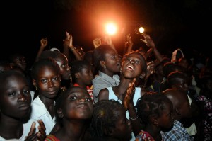 The front row, Ziguinchor, Senegal 9/5/12 (c) Alicia Field
