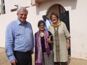 DFID Minister visits Tostan to hear about community empowerment