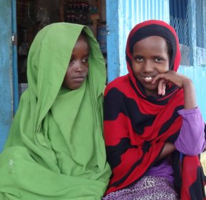 Two girls in Somaliland