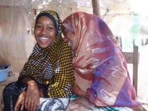 Two Girls Lafarug, Saaxil, Somaliland