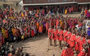 Morans giving performance on tour. Image provided by S.A.F.E. Maa.