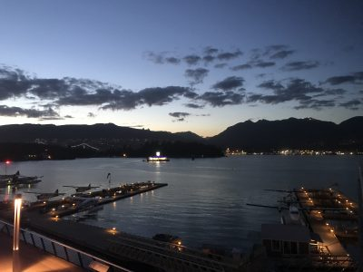 View over Vancouver Harbour, where WD2019 took place.