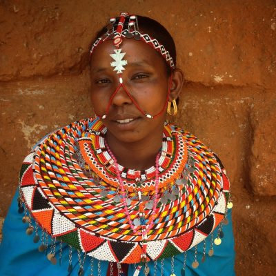 Veronica Lelueta, project manager for SAFE Samburu.