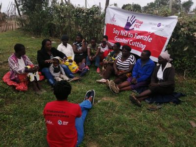 "A community dialogue held by COVAW - part of their programmatic partnership with Orchid Project ""Giving Voice to Communities to End FGC""."